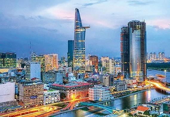 TPHCM và 7 tỉnh thành được kỳ vọng sẽ trở thành bát giác kim cương. Ảnh: Tạp chí Kiến trúc