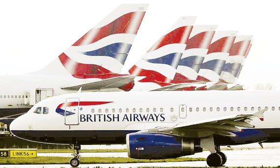 Hàng loạt máy bay của British Airways tạm ngừng hoạt động do Covid-19