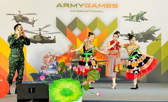 Phần biểu diễn ấn tượng của nghệ sĩ Hà Công Cương tại Army Games 2020
