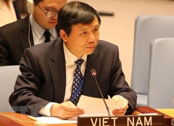 Đại sứ Đặng Đình Quý, Trưởng Phái đoàn Thường trực Việt Nam tại Liên hiệp quốc. Ảnh: TG-VN