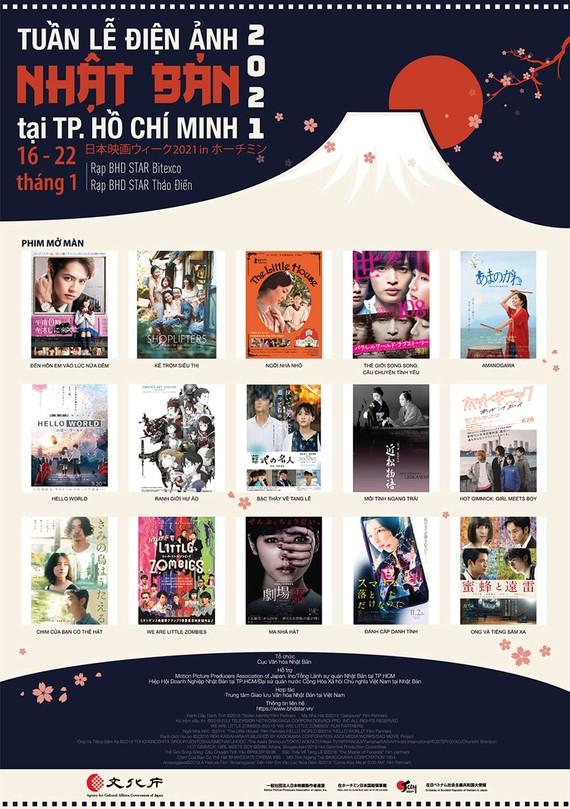 Tuần lễ Điện ảnh Nhật Bản 2021 tại TPHCM