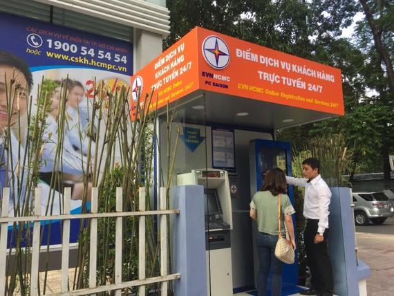 Điểm giao dịch trực tuyến các dịch vụ về điện của EVNHCMC