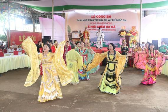 Lễ công bố di sản văn hóa phi vật thể cấp quốc gia Lễ hội Miếu Bà Rá