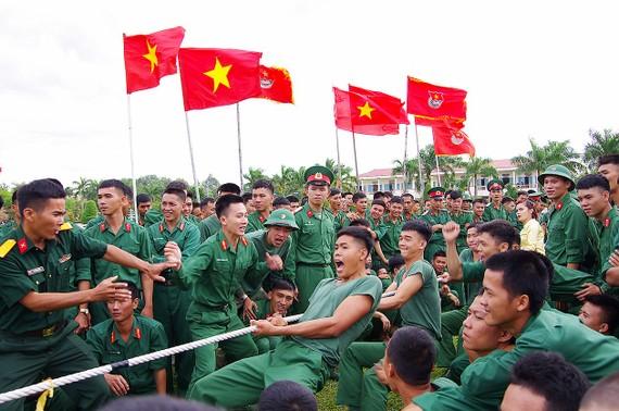 Chiến sĩ Sư đoàn 5 rèn luyện sức khỏe