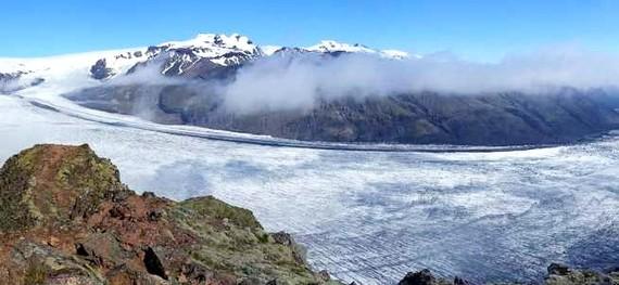 Sông băng Skaftafelljökul ở Iceland mất một lượng băng lớn trong hơn 20 năm qua
