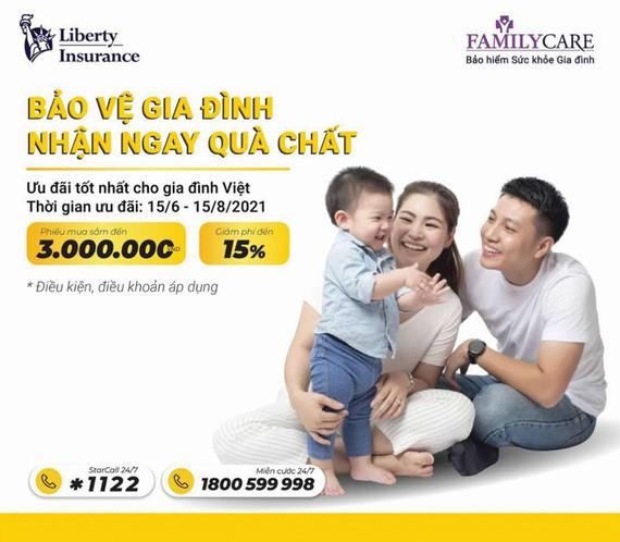 Liberty ra mắt sản phẩm bảo vệ sức khỏe toàn diện cho gia đình Việt