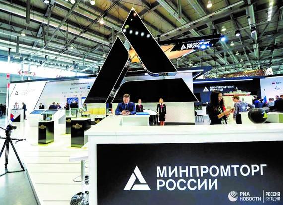 Một gian hàng Nga tại Innoprom 2021