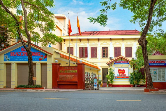 Trụ sở Báo Hải Phòng hiện nay
