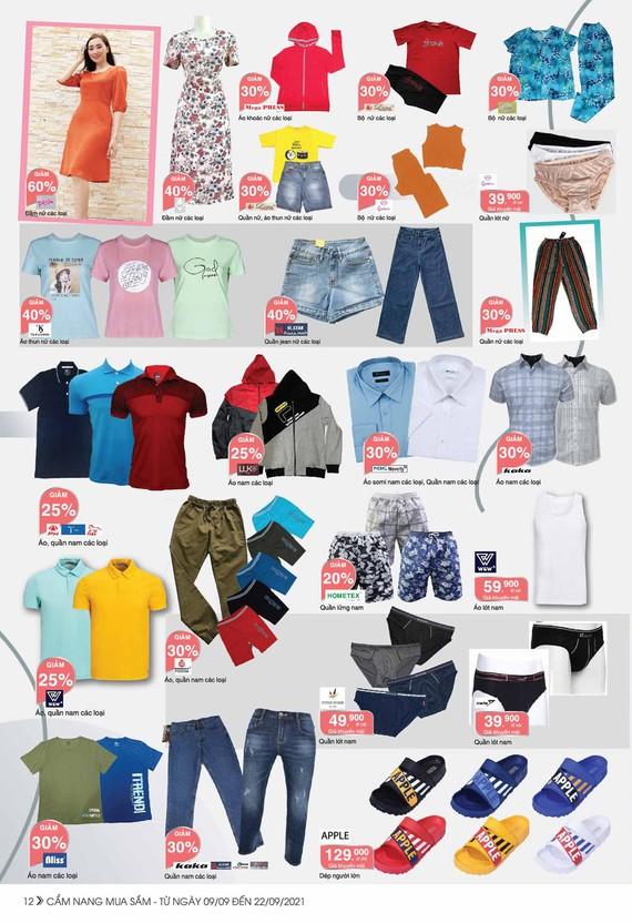Nhiều sản phẩm hàng hóa thiết yếu được Saigon Co.op giảm giá