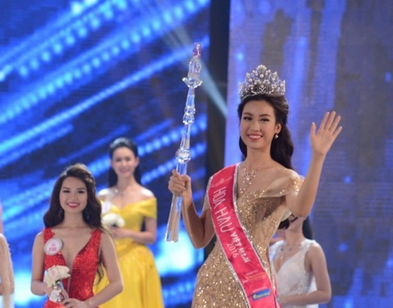 Do My Linh at Miss Vietnam 2016-Photo: VNS