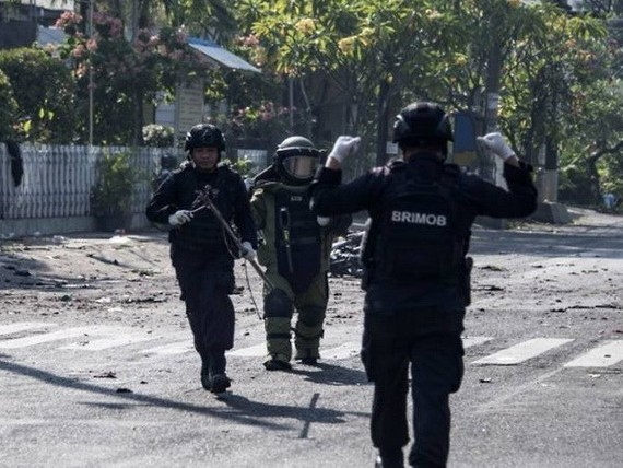 The counter-terrorism force of Indonesia (Photo: AFP)