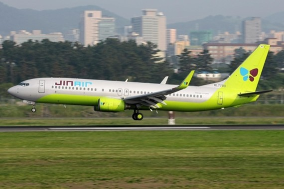 Gov't decides not to cancel Jin Air's license