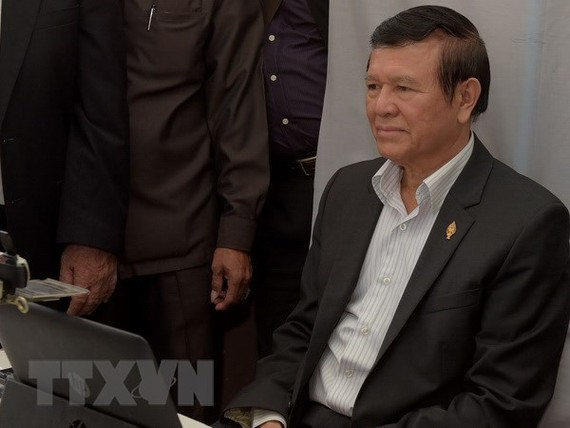 Cambodia's former opposition leader denied bail again