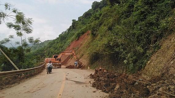 Hundreds of households moved due to flood, landslides