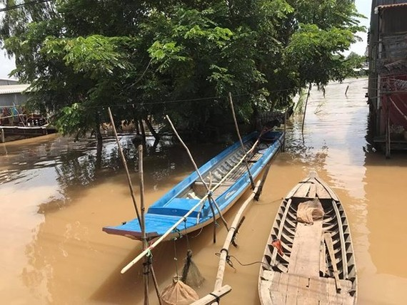 Mekong water levels to peak at 4.05m on Sept 25: NCHMF