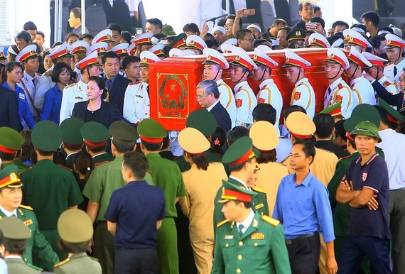 President Tran Dai Quang laid to rest in hometown