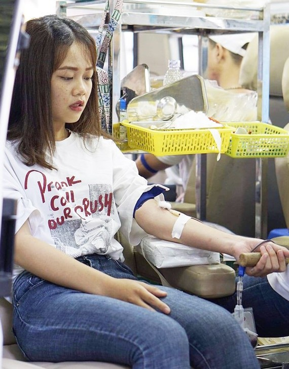 Over 1,000 blood units collected at blood donation program