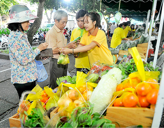 HCMC Clean Agro-products Association opened