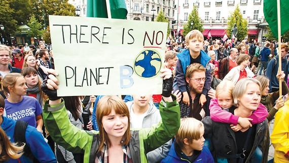 Người Mỹ biểu tình phản đối chính sách môi trường