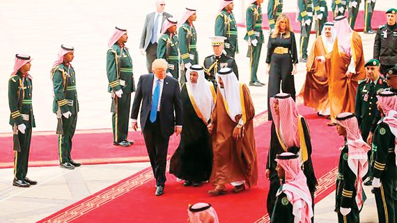 Saudi Arabia là điểm đến đầu tiên trong chuyến công du của Tổng thống Mỹ Donald Trump