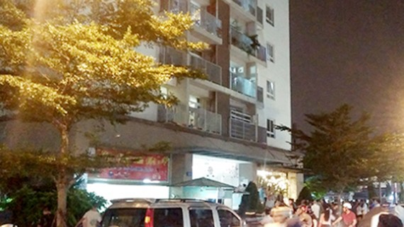 Chung cư Hà Đô (quận Gò Vấp) nơi Bình gây án