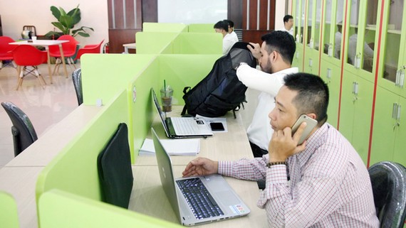 Không gian phục vụ khởi nghiệp tại số 156 Nam Kỳ Khởi Nghĩa, quận 1, TPHCM