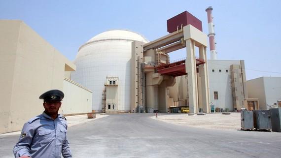 Nhà máy điện hạt nhân Bushehr. Ảnh: newsweek
