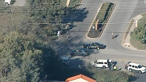 Hiện trường vụ nổ súng ở bang Maryland làm 3 người thiệt mạng. Ảnh: cnn.com