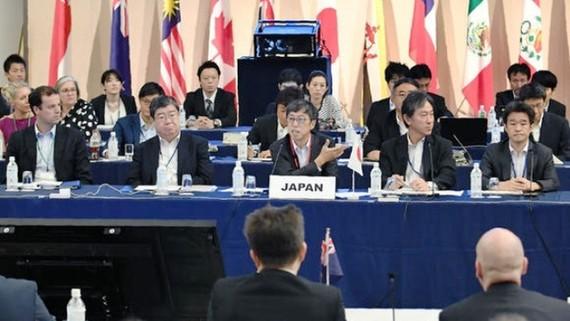 Đàm phán TPP 11 tại Tokyo, Nhật Bản. Ảnh: ASIAN NIKKEI