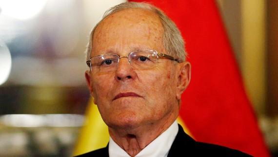 Tổng thống Peru Pedro Pablo Kuczynski - Ảnh: REUTERS
