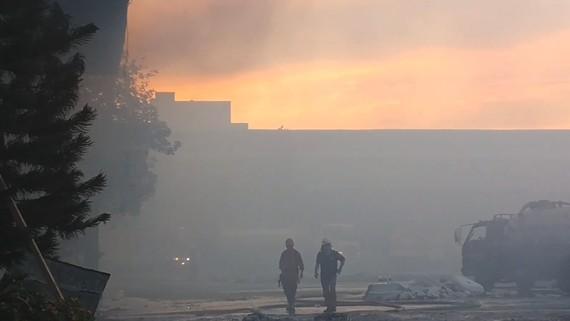 Bà Rịa - Vũng Tàu: Cháy lớn tại nhà máy giấy Sài Gòn