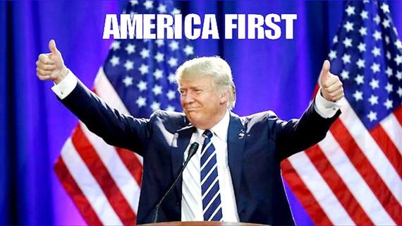 """Tổng thống Mỹ Donald Trump cam kết thực hiện chính sách """"Nước Mỹ trước tiên"""""""
