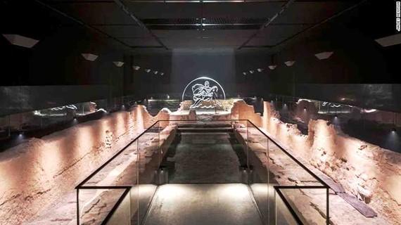 Đền cổ La Mã dưới lòng đất London