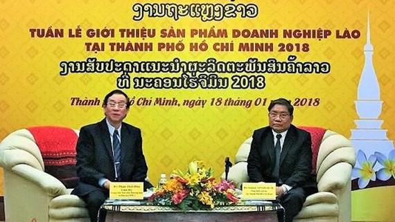 Lần đầu tiên tổ chức Tuần lễ sản phẩm doanh nghiệp Lào tại TPHCM