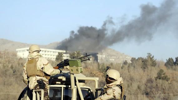 Taliban nhận tấn công khách sạn ở thủ đô Afghanistan