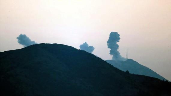 Hình ảnh cuộc không kích tại Afrin của Thổ Nhĩ Kỳ