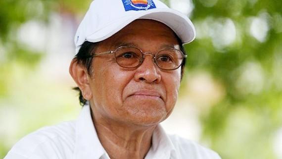 Thủ lĩnh CNRP Kem Sokha. Ảnh: Reuters