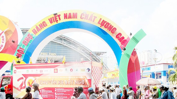 Hội chợ Hàng Việt Nam chất lượng cao khẳng định thương hiệu hàng hóa nội địa