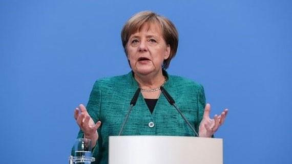 Thủ tướng Đức Angela Merkel. Ảnh: TTXVN