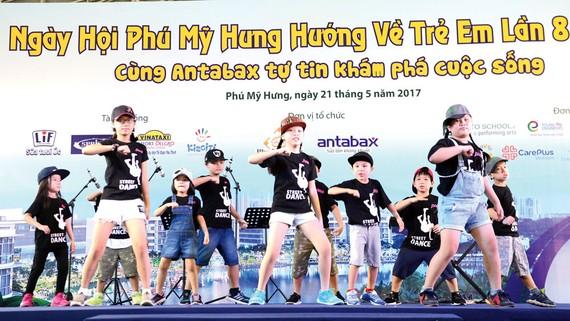 Điểm đến vui chơi lý tưởng ở Phú Mỹ Hưng trong ngày hội trẻ em vào dịp hè hàng năm