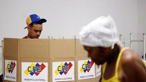 Venezuela bầu cử tổng thống mới. Ảnh minh họa: Reuters