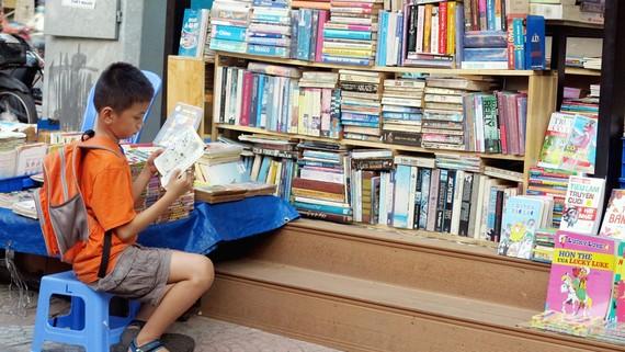 Bạn đọc nhỏ tuổi có nhiều lựa chọn vào mùa hè này