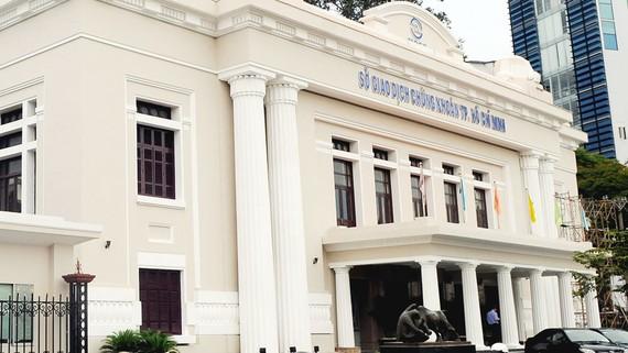 Sở Giao dịch chứng khoán TPHCM có kiến trúc cổ. Ảnh: CAO THĂNG