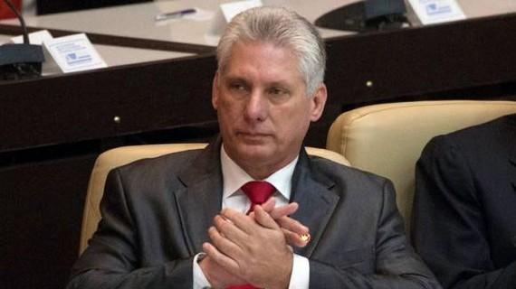 Ông Miguel Diaz-Canel. Ảnh: REUTERS