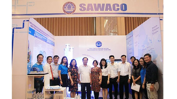 Gian hàng triển lãm của Sawaco tại sự kiện