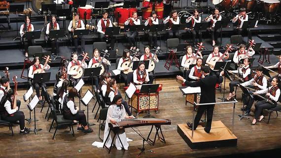 Dàn nhạc trẻ Trung Quốc trình diễn ở Mỹ