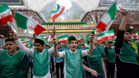 Một cuộc tuần hành ở Tehran kỷ niệm 40 năm Cách mạng Hồi giáo Iran thành công (1979-2019)