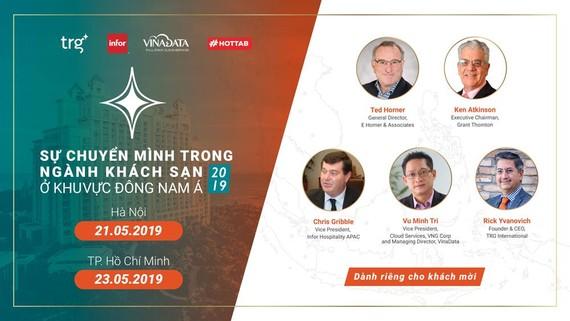 TRG International tổ chức hội thảo về ngành khách sạn tại TPHCM và Hà Nội