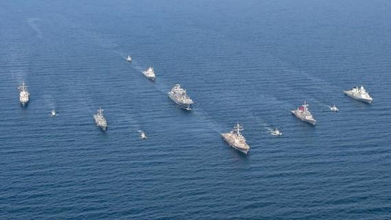 Một cuộc tập trận của NATO. Nguồn: US Navy