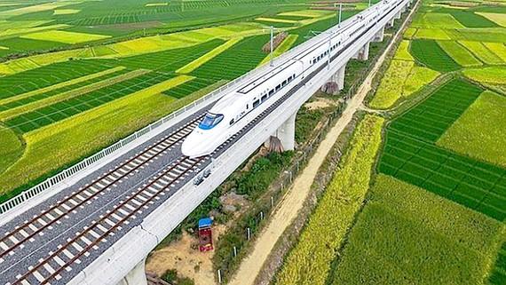 Mạng lưới đường sắt kết nối EU và châu Á còn nhiều tiềm năng tăng trưởng. Ảnh: Railly News